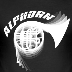Blow - Alphorn - Music! - Männer Slim Fit T-Shirt