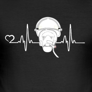 Fire Department - Heartbeat - slim fit T-shirt