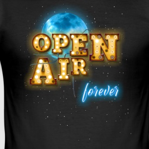 Open Air - Slim Fit T-shirt herr
