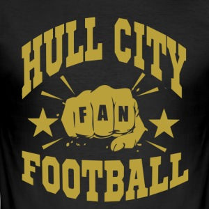 Hull City Fan - Tee shirt près du corps Homme
