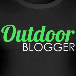 Outdoor Blogger - Slim Fit T-shirt herr