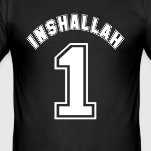 inshallah - Herre Slim Fit T-Shirt