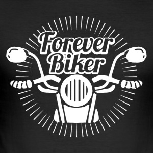 Motorcyclist love motorcycle - Men's Slim Fit T-Shirt