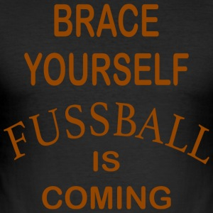 Brace Yourself Football Is Coming - Brown - Tee shirt près du corps Homme