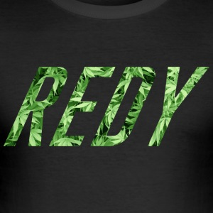 REDY WEED - Männer Slim Fit T-Shirt