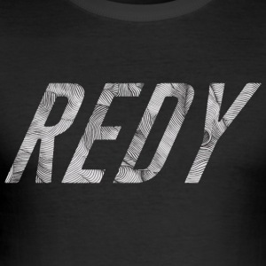 REDY rayure - Tee shirt près du corps Homme