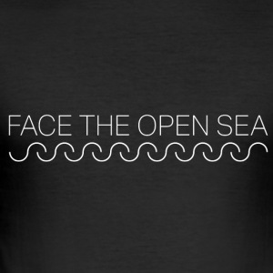 FACE de open zee - slim fit T-shirt