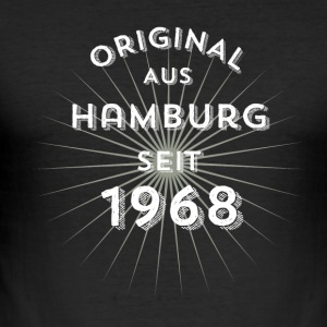 Original from Hamburg since 1968 - Men's Slim Fit T-Shirt