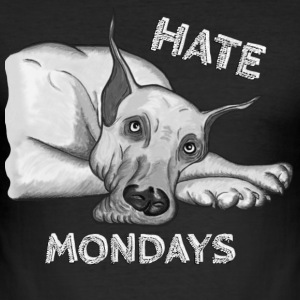 Hate Mondays - Slim Fit T-skjorte for menn