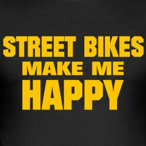 street bikes - Men's Slim Fit T-Shirt