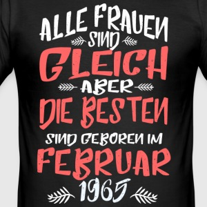 Februar 1965 - Männer Slim Fit T-Shirt