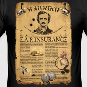 ALLAN POE T-shirts - Men's Slim Fit T-Shirt