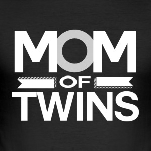MOM of Twins -MothersDay - Men's Slim Fit T-Shirt