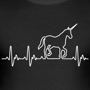 Hart voor Unicorns - slim fit T-shirt