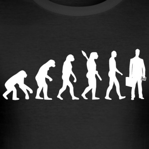 Evolution accountant boekhouder w - slim fit T-shirt