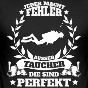 Taucher - Männer Slim Fit T-Shirt