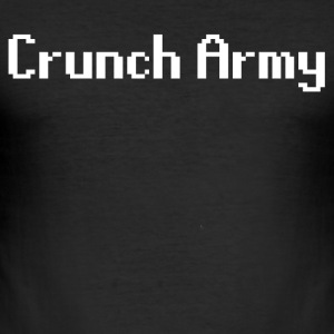 Crunch Army - Slim Fit T-shirt herr
