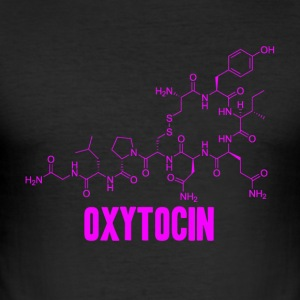 oxytocin - Slim Fit T-skjorte for menn