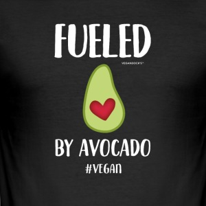 Fueled By Avocado - Men's Slim Fit T-Shirt