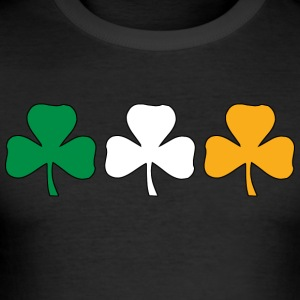 Irland Shamrock Flag - Männer Slim Fit T-Shirt