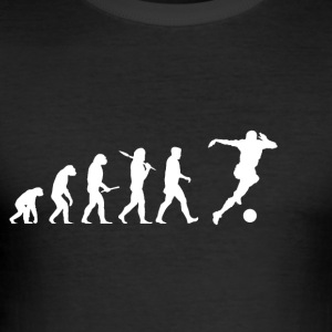 Evolution Soccer! Soccer! Football! - Men's Slim Fit T-Shirt