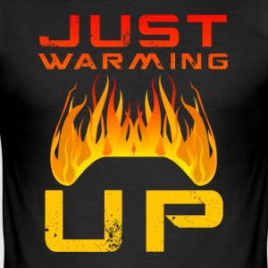 Net Warming Up van Juiceman Benji Gaming - slim fit T-shirt