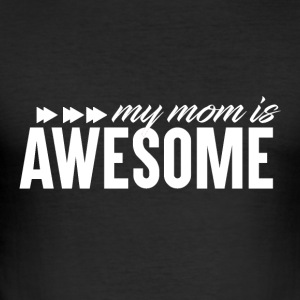 Awesome Mum - Mum Power! - Men's Slim Fit T-Shirt
