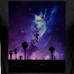 Skate to Space - Slim Fit T-shirt herr