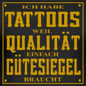 TATTOOS GUeTESIEGEL - Männer Slim Fit T-Shirt