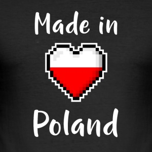 Made in Poland - Men's Slim Fit T-Shirt