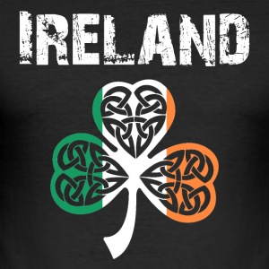 Nation-Design Ireland 02 - Men's Slim Fit T-Shirt