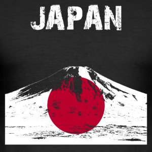 Nation-Design Japan Fuji - Herre Slim Fit T-Shirt