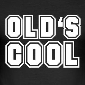 old is cool - Men's Slim Fit T-Shirt