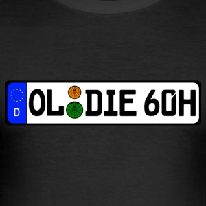Oldie 60 years history - Men's Slim Fit T-Shirt