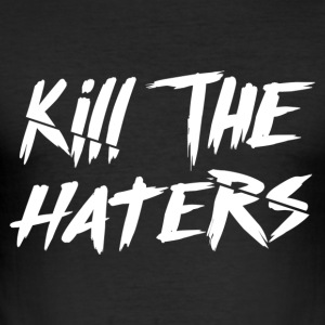 Kill The Haters Logo Collection - Slim Fit T-shirt herr