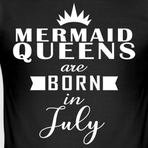 Mermaid Queens juli - Slim Fit T-skjorte for menn