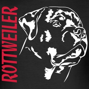 ROTTWEILER - Slim Fit T-skjorte for menn
