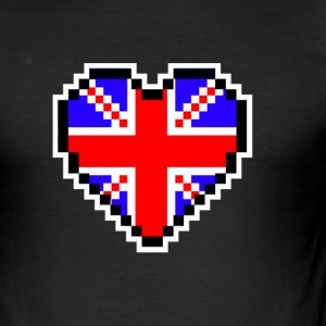 LOVE Storbritannien - Slim Fit T-shirt herr