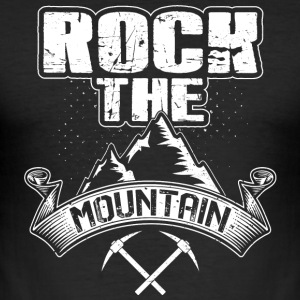 Rock the Mountain - Herre Slim Fit T-Shirt