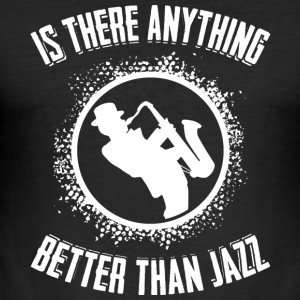 I love jazz - Tee shirt près du corps Homme