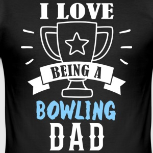 BOWLING far - Herre Slim Fit T-Shirt