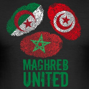 MAGHREB UNITED المغرب - Men's Slim Fit T-Shirt