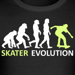++Skater Evolution++ - Männer Slim Fit T-Shirt