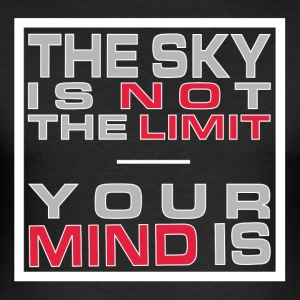 No Limit Mind - slim fit T-shirt