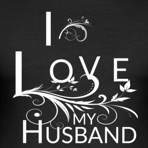 My Husband Is The Best - Men's Slim Fit T-Shirt
