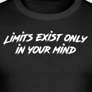 Limits - Männer Slim Fit T-Shirt