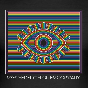 psychedelic flower company - Tee shirt près du corps Homme