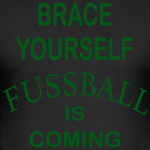 Brace Yourself Football is Coming - Vert - Tee shirt près du corps Homme