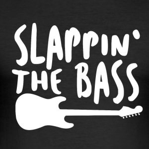 Slappin The Bass - Musik! - Herre Slim Fit T-Shirt