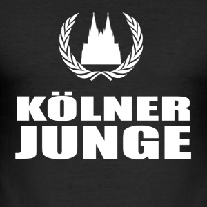 cologne - Slim Fit T-shirt herr